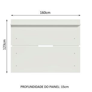 Painel para TV até 65 Polegadas Madesa - Branco