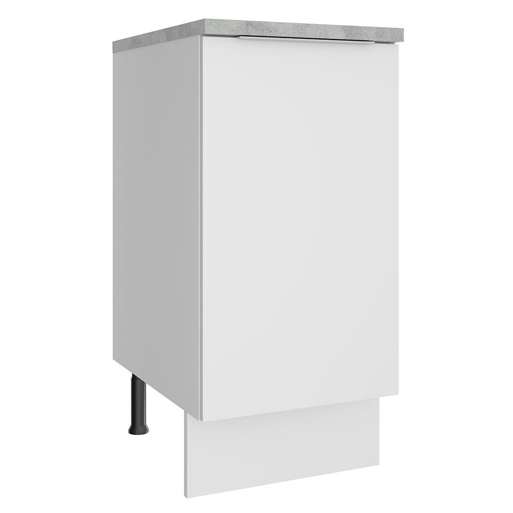 Balcão Madesa Stella 35 cm 1 Porta - Branco
