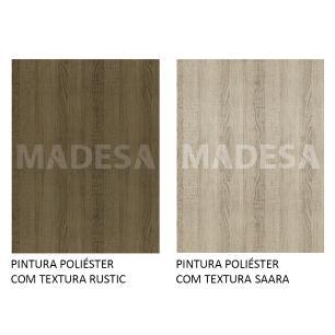 Balcão de Pia Madesa Stella 2 Portas e 3 Gavetas - Rustic/Saara