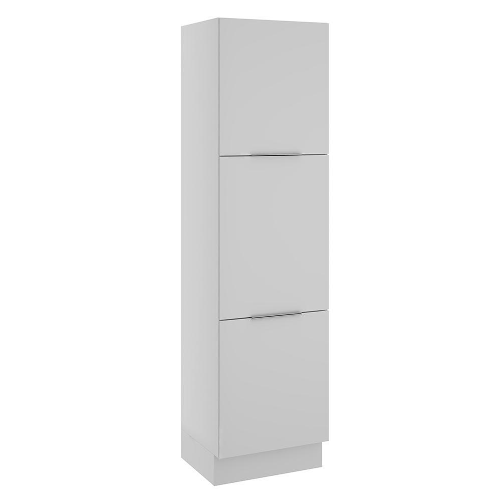 Paneleiro Madesa Stella 60 cm 3 Portas - Branco