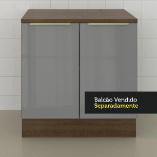Tampo para Balcão Lux de 80 x 60 cm Madesa - Rustic