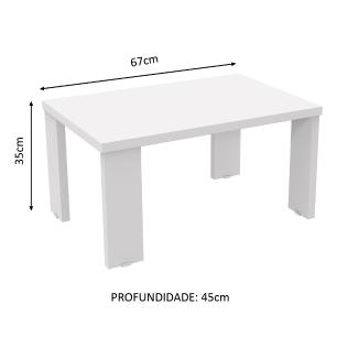 Mesa de Centro Madesa 5362 - Branco
