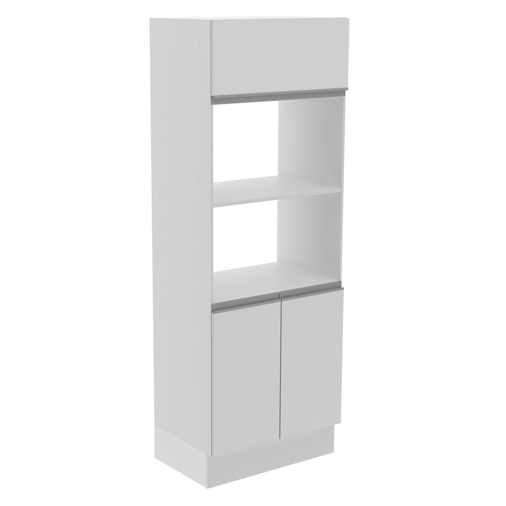 Torre Quente Para 2 Fornos Madesa Smart 100% MDF - Branco