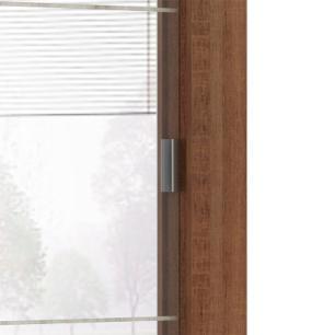 Guarda-Roupa Casal Madesa Campos 3 Portas de Correr de Espelho