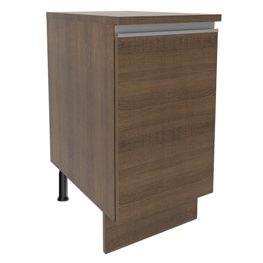 Balcão Madesa Glamy 40 cm 1 Porta - Rustic