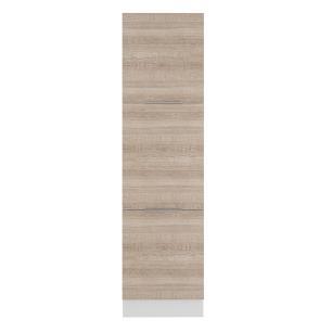 Paneleiro Madesa Stella 60 cm 3 Portas - Branco/Saara