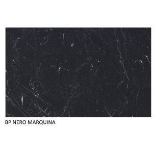 Tampo Madesa 100% MDF para Balcão de Pia 120 cm - Nero Marquina