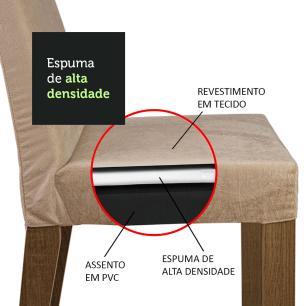 Conjunto Sala de Jantar Madesa Dandara Mesa Tampo de Vidro com 4 Cadeiras - Rustic/Preto/Imperial