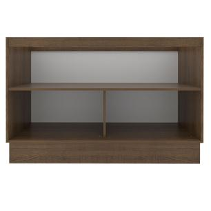 Balcão Gabinete de Pia Madesa Glamy 120 cm 2 Portas - Rustic