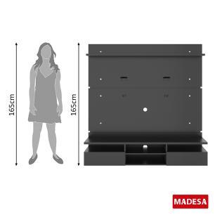 Painel para TV até 65 Polegadas Madesa Master 160 cm 2 portas