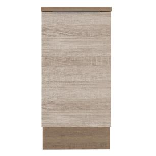 Balcão Madesa Stella 40 cm 1 Porta - Rustic/Saara
