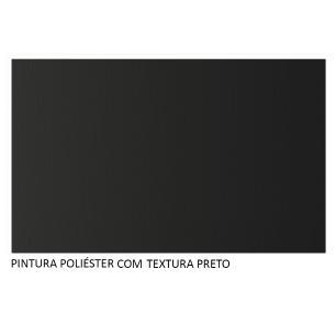 Painel para TV até 60 Polegadas Madesa Alfa com Nicho - Preto