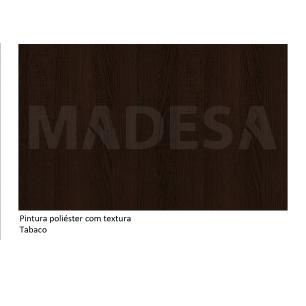 Mesa Madesa com Tampo de Madeira 5231