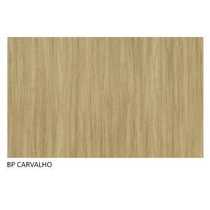 Escrivaninha Madesa Rubi + Estante Livreiro 6905 - Carvalho