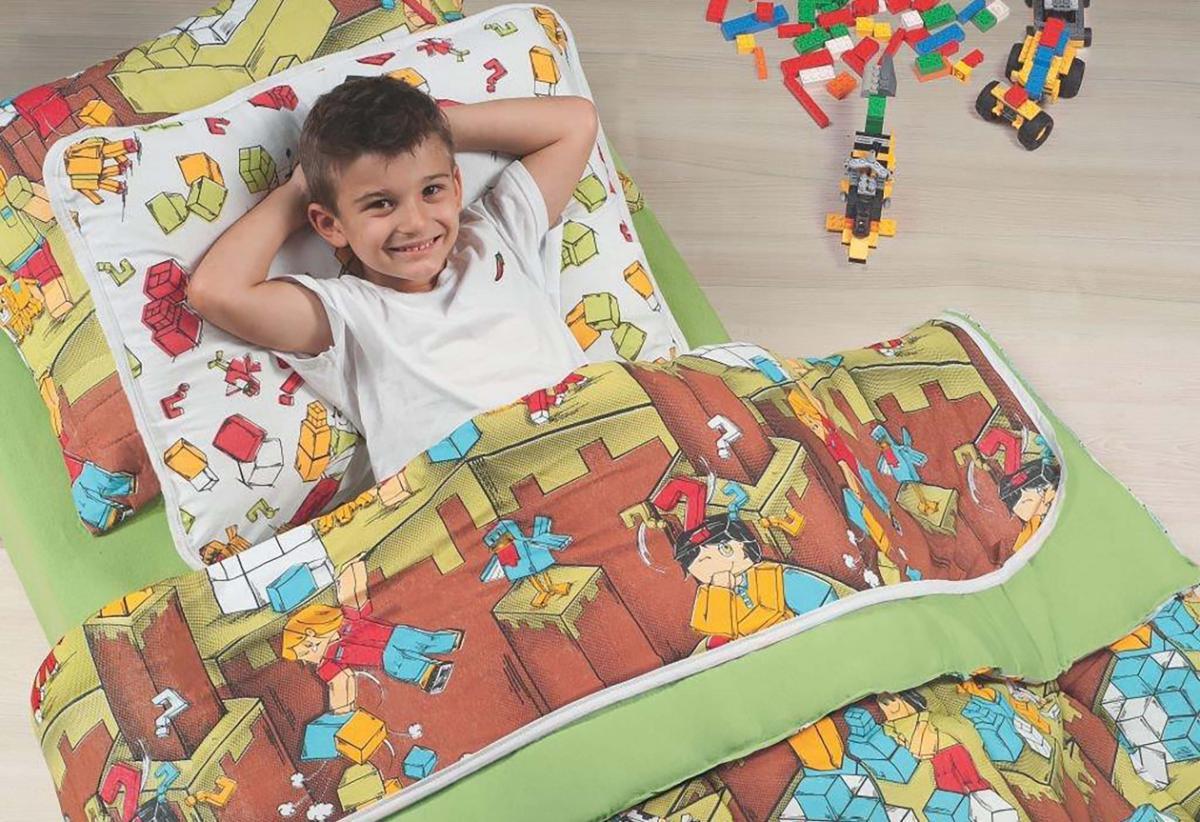 Edredon Kids Avulso Blocks