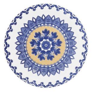 Prato de Sobremesa 20 cm Floreal La Carreta - Oxford