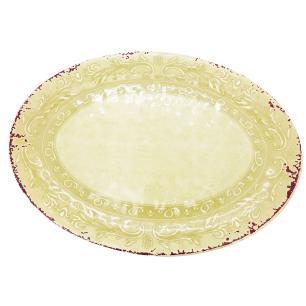Travessa Oval Rasa Linha Antique - Mimo Style