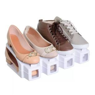 Organizador para Sapatos Double Branco - Arthi