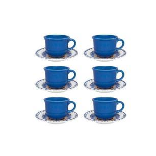 Conjunto de Chá 12 Peças La Carreta - Oxford Daily