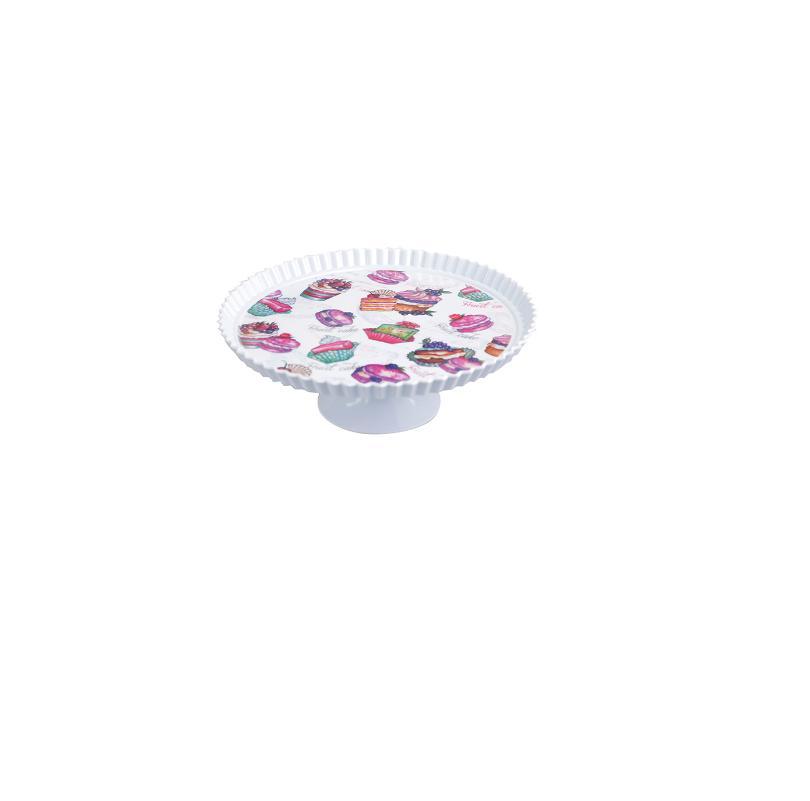 Boleira de Melamina Decorada Cupcake 28cm - Art House
