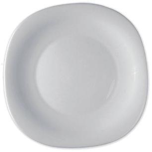 Prato Sobremesa de Vidro Parma Bormioli Branco 20cm