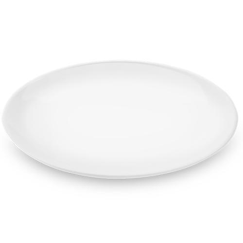 Prato Redondo 20cm Buffet Melamina Branca - Brinox
