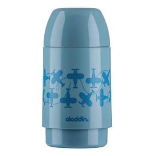 Garrafa Térmica Kids Decorada Aladdin 250 ml Azul