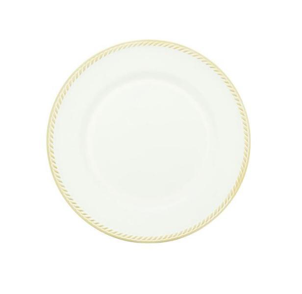 Sousplat Requinte Branco E Dourado - Mimo Style
