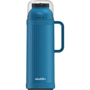 Garrafa Térmica 1 litro com Bico Pampa Azul - Aladdin