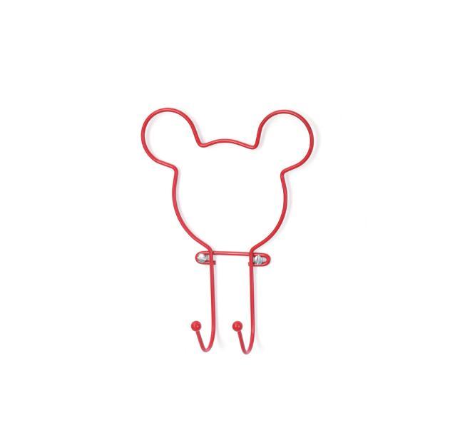 Suporte com 2 Ganchos Pendurador Red Wiring Disney - Arthi