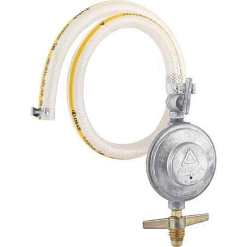 Regulador De Gás Blindado Sem Manômetro Com Mangueira - 504/01 - Aliança