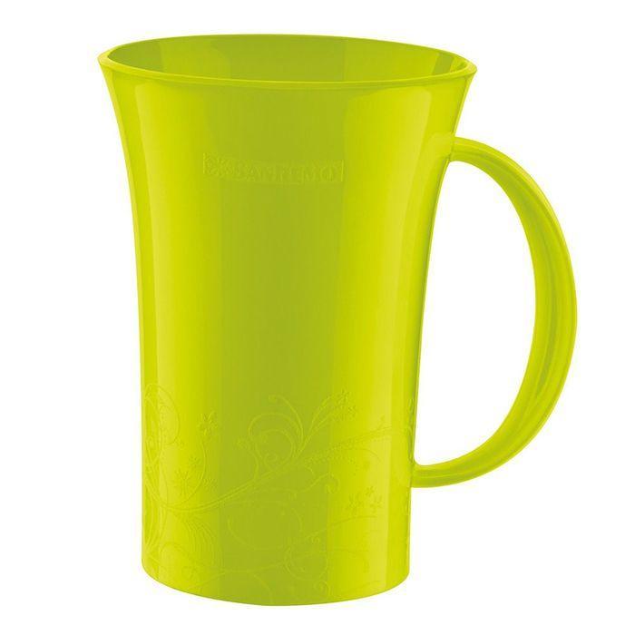 Caneca Plástica 460ml Verde Sanremo