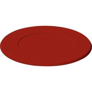 Sousplat Redondo Laqueado Tramontina Design Collection Vermelho