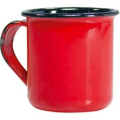 Caneca Vermelha Lisa N.6