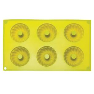 Forma para 6 Cupcake ou Pudim Em Silicone - Mimo Style