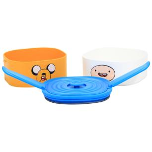 Lunch Box 17x13x14cm Dupla Finn e Jake - Zona Criativa