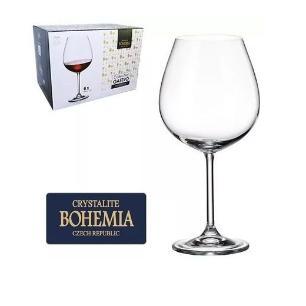 Jogo de Taças Gastro 650ml 6pc Cristal Bohemia