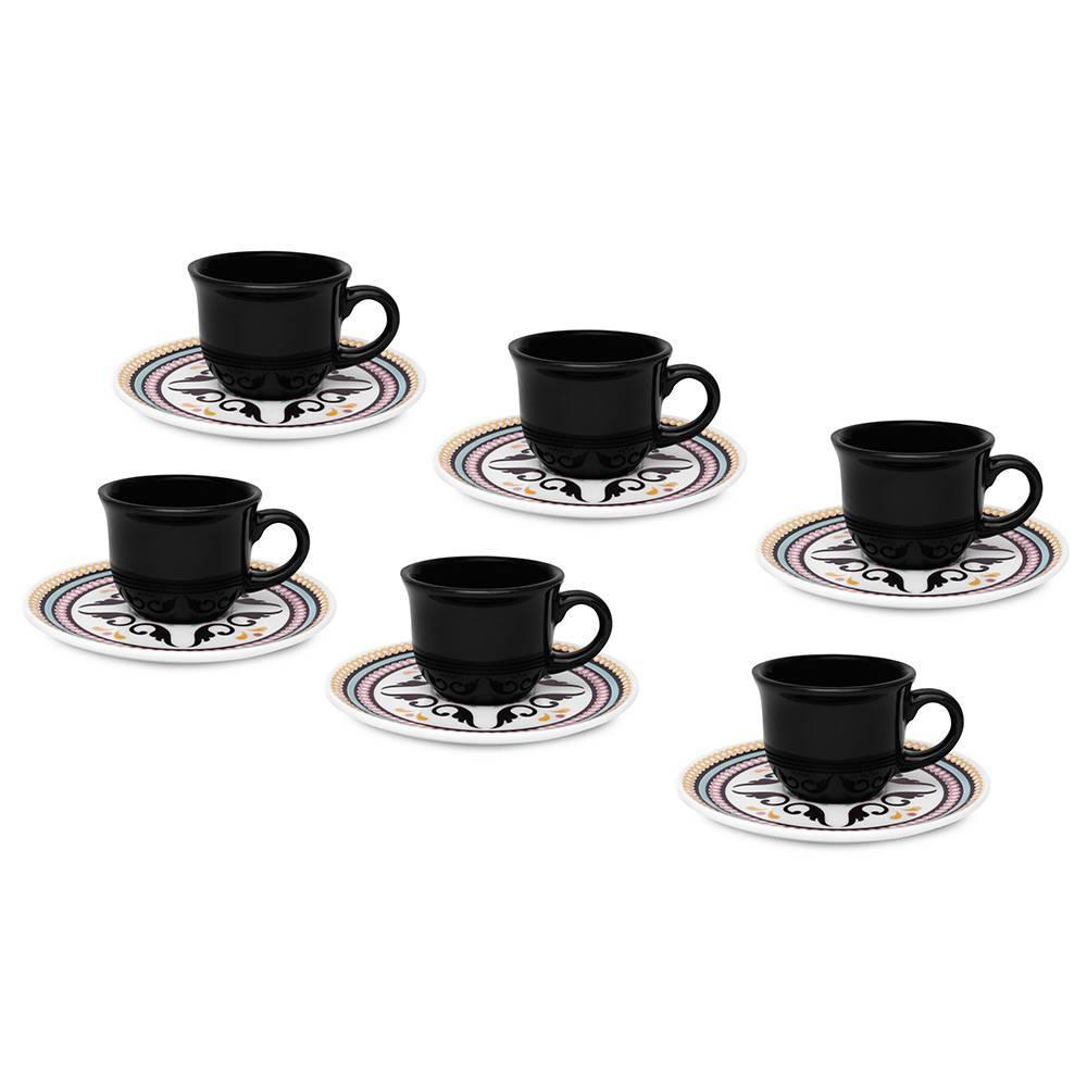 Jogo de Xícaras de Café Luiza Biona - Oxford