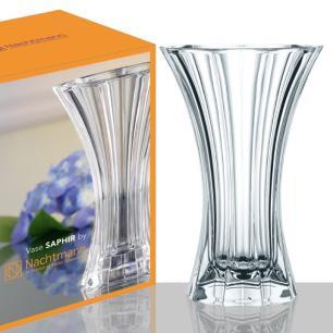 Vaso Saphir Cristal Transparente 30cm Nachtmann