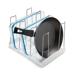 Organizador Multiuso para Cozinha com 4 Aramados - Arthi