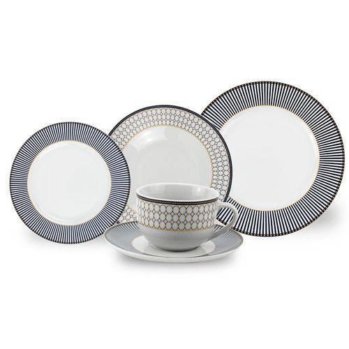 Jogo de Jantar 30 Peças Porcelana Fina 913 Class Home