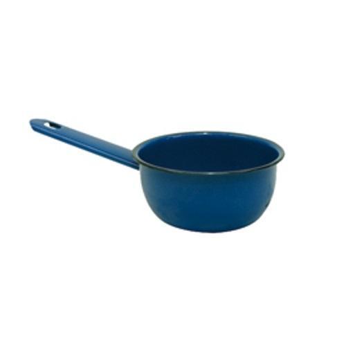 Papeiro Com Cabo Liso Esmaltado Azul N.12 Metallouça