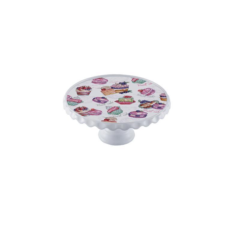 Boleira de Melamina Decorada Cupcake 36 cm - Art House