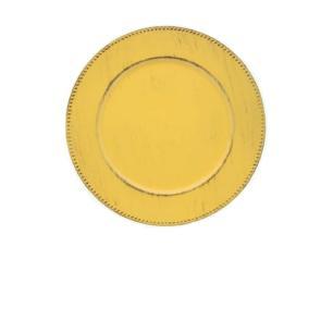 Sousplat Poa Amarelo - Mimo