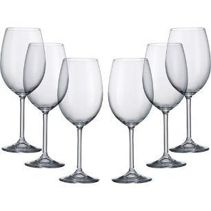 Jogo 6 Taças Para Vinho 350ml Gastro