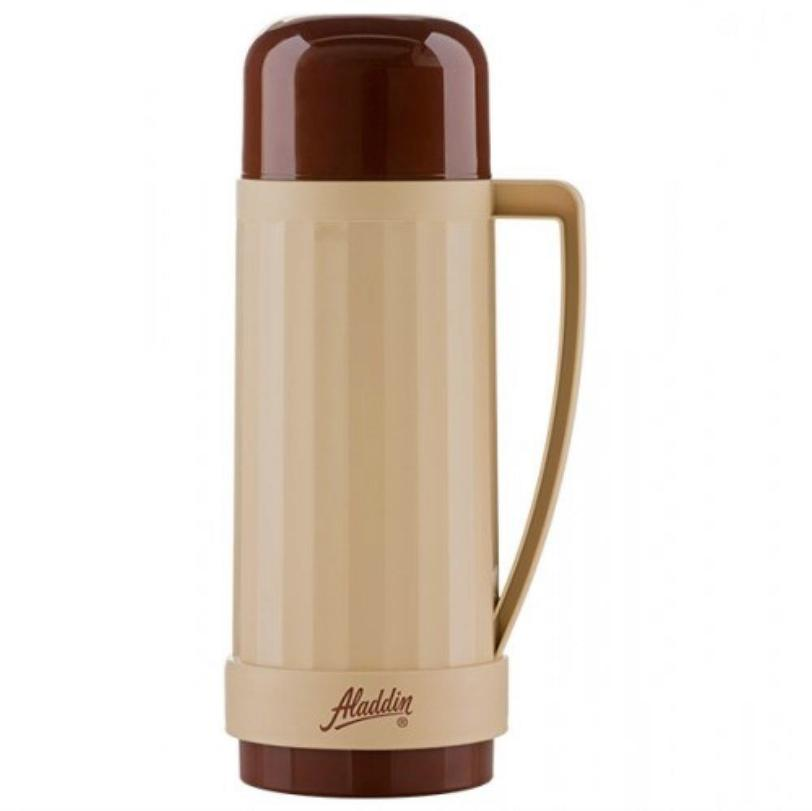 Garrafa Térmica de Rosca Continental Bege 500 ml - Aladdin