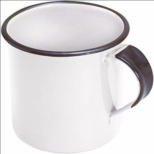 Caneca Esmaltada 400 ml - Metalloucas