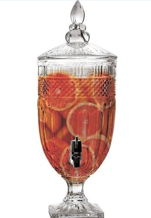 Suqueira Dispenser de Bebidas 4,5 Litros Cristal- Class Home