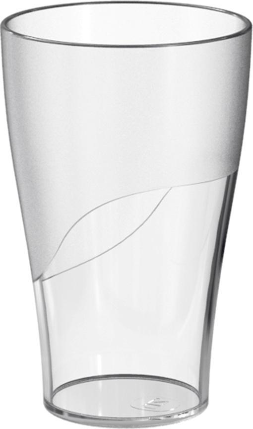 Copo Plástico 300ml Transparente Translúcido