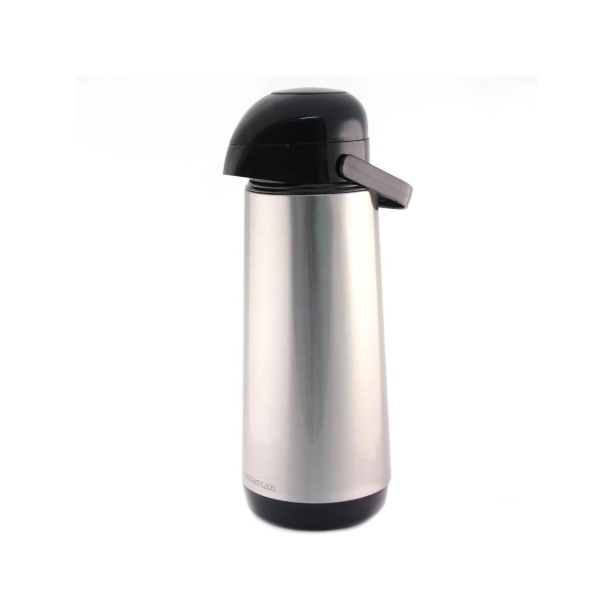 Garrafa Térmica Lúmina 9751 Termolar - 1 Litro - Aço Inox